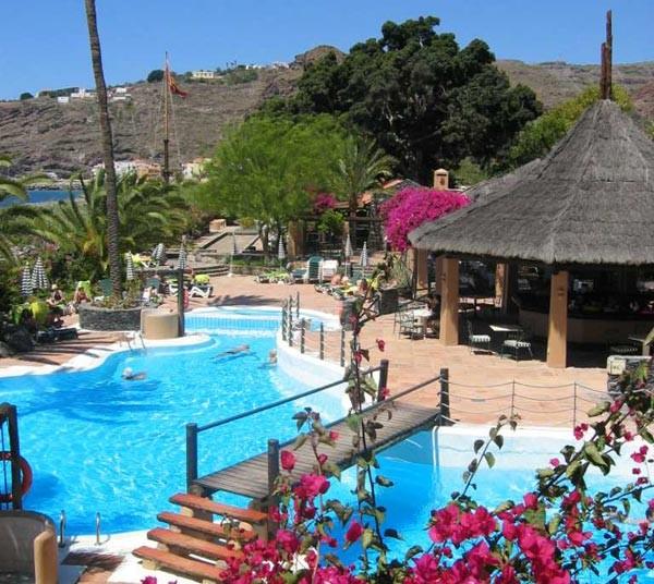 Golfurlaub mit greenfee paket von golf und fun for Hotel jardin tecina la gomera